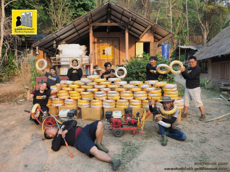 5 thumbnail บริจาคสายยางเพื่อสนับสนุนภารกิจดับไฟป่า